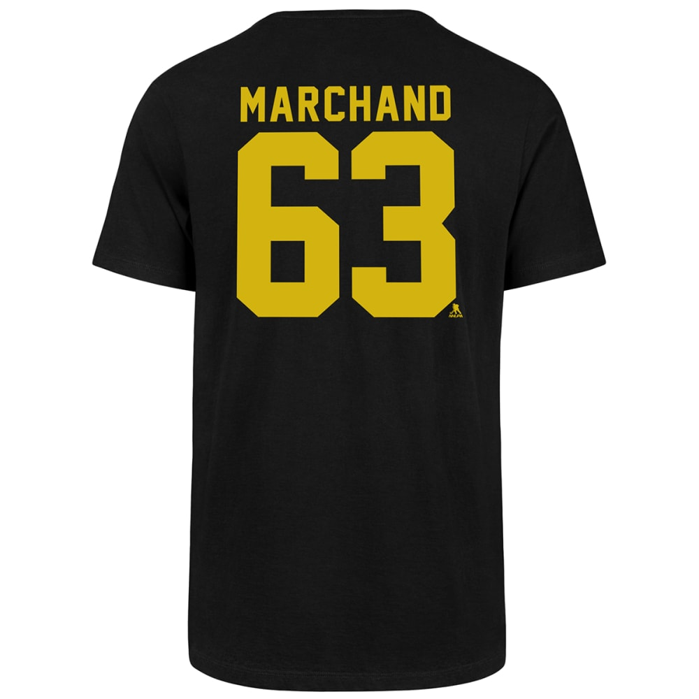 Boston Bruins Men's '47 Marchand Super Rival Short-Sleeve Tee - Black, M