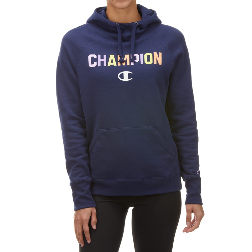 CHAMPION Women's Powerblend Pullover Hoodie S