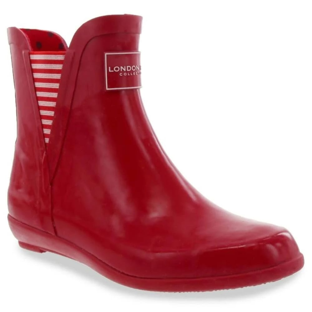 LONDON FOG Women's Piccadilly Rain Boots 6