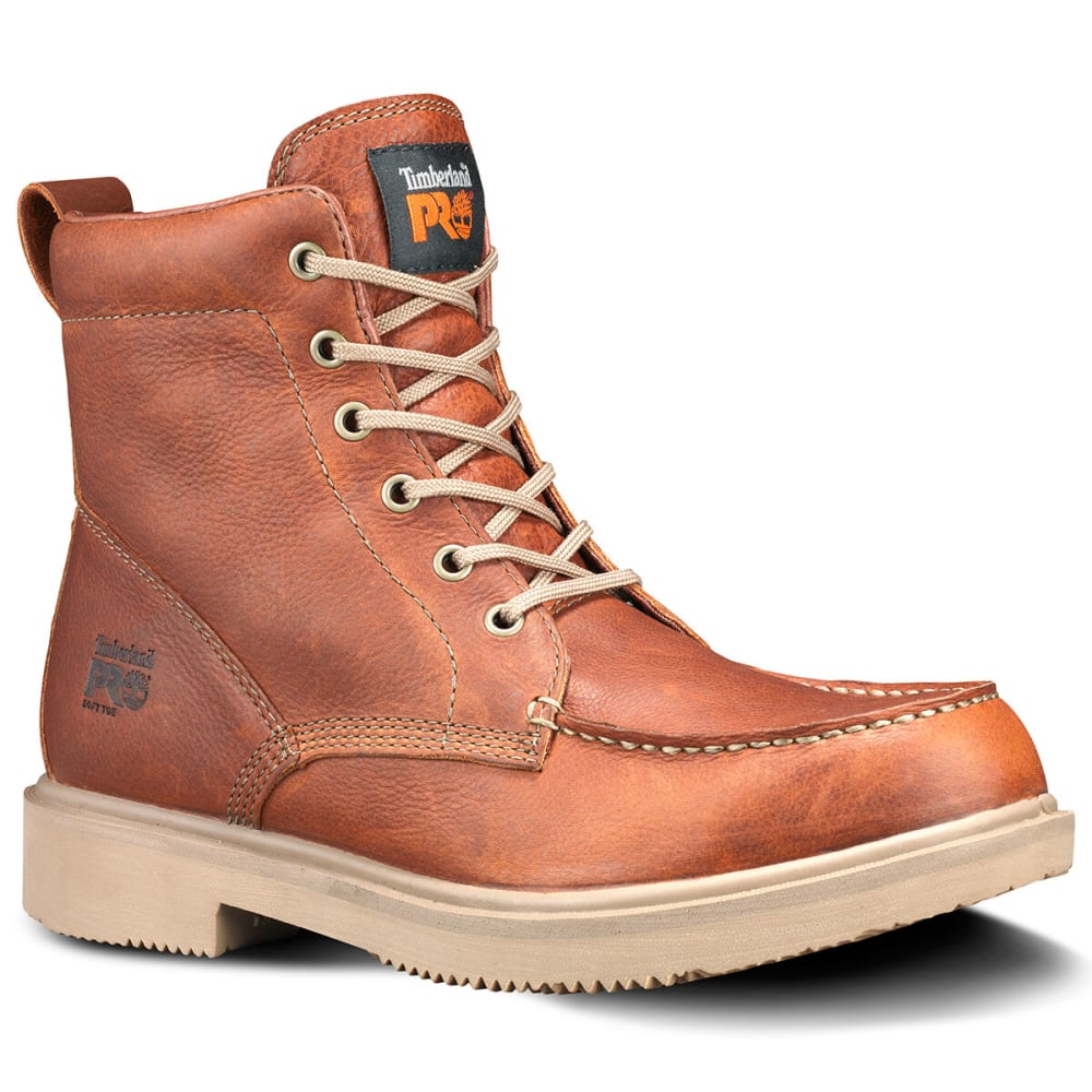 TIMBERLAND PRO Men's 6 Inch Ignition Work Boots - BROWN 214