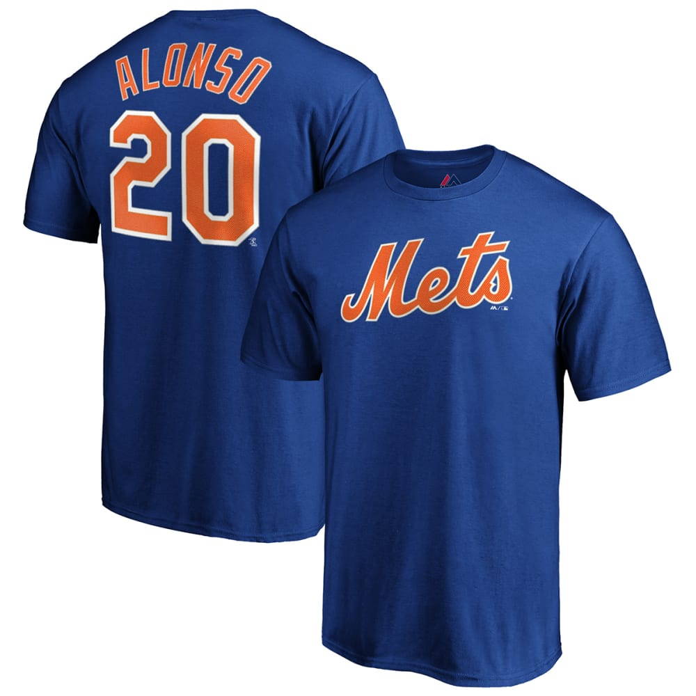 NEW YORK METS Men's Pete Alonso Name & Number Short-Sleeve Tee M