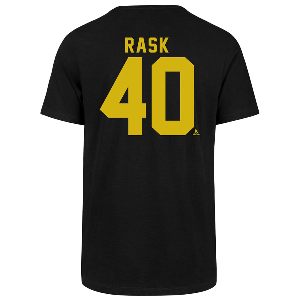 Boston Bruins Men's Short-Sleeve Tuukka Rask #40 Name And Number Player Tee - Black, L