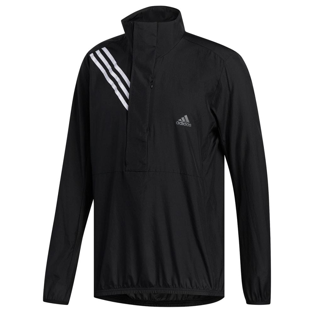 ADIDAS Men's Run It 3-Stripes Anorak Jacket M