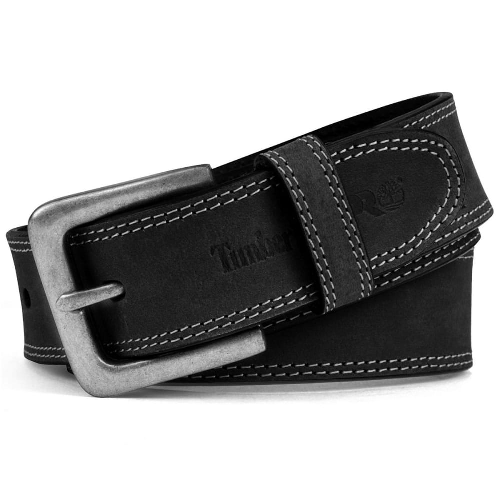 TIMBERLAND Men's Pro Stitch Leather Belt 32