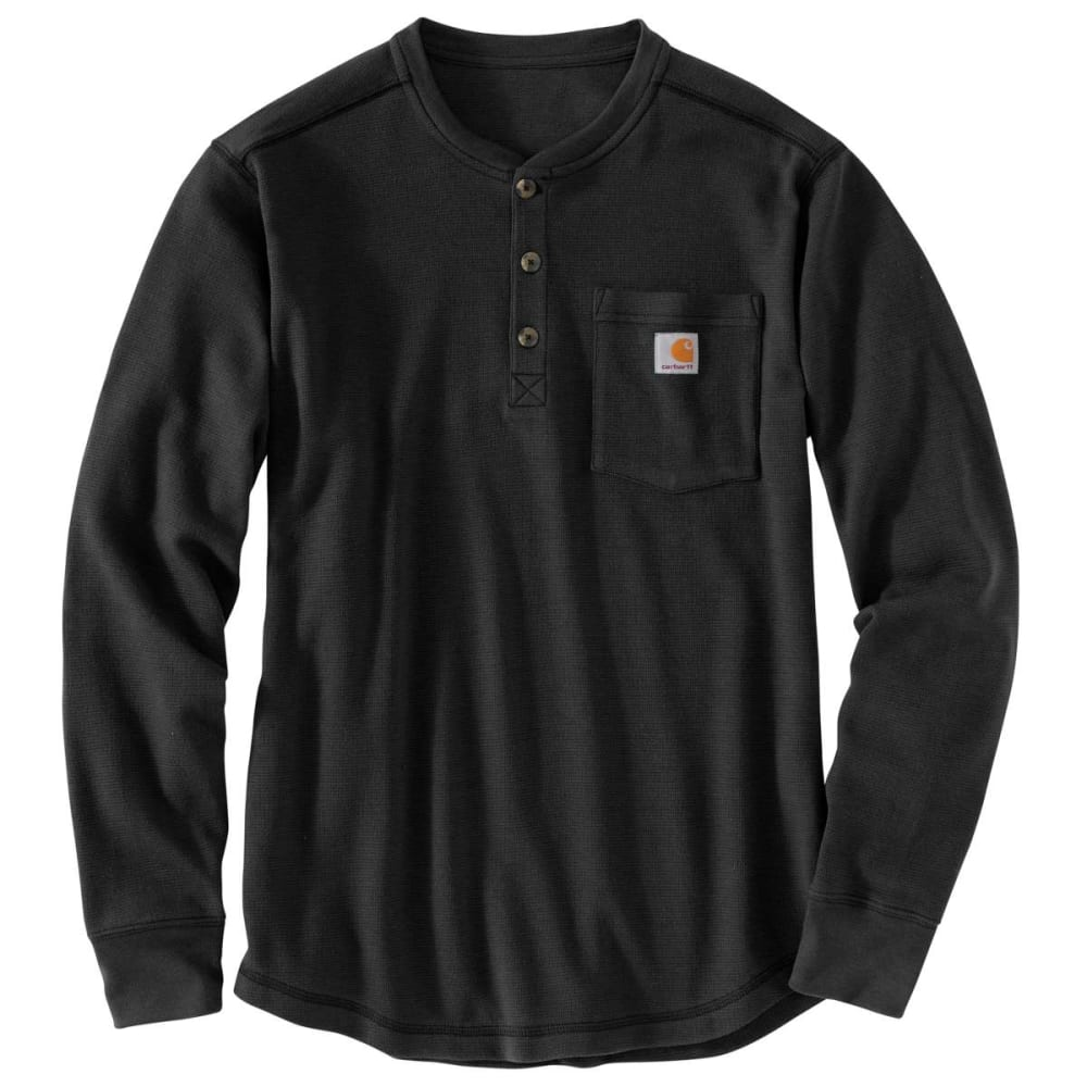 CARHARTT Men's Tilden Long-Sleeve Henley Shirt, Extended Sizes 2XLT
