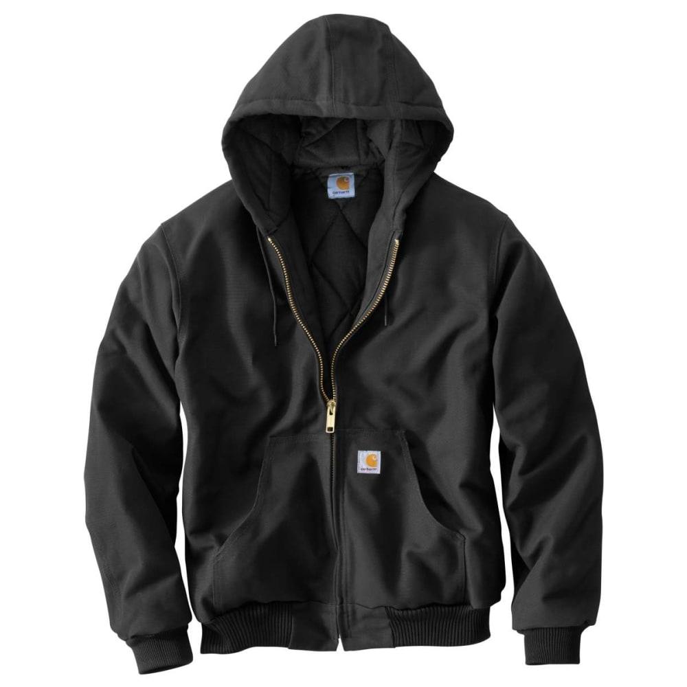 CARHARTT Men's Flannel-Lined Jacket, Extended Sizes XLT