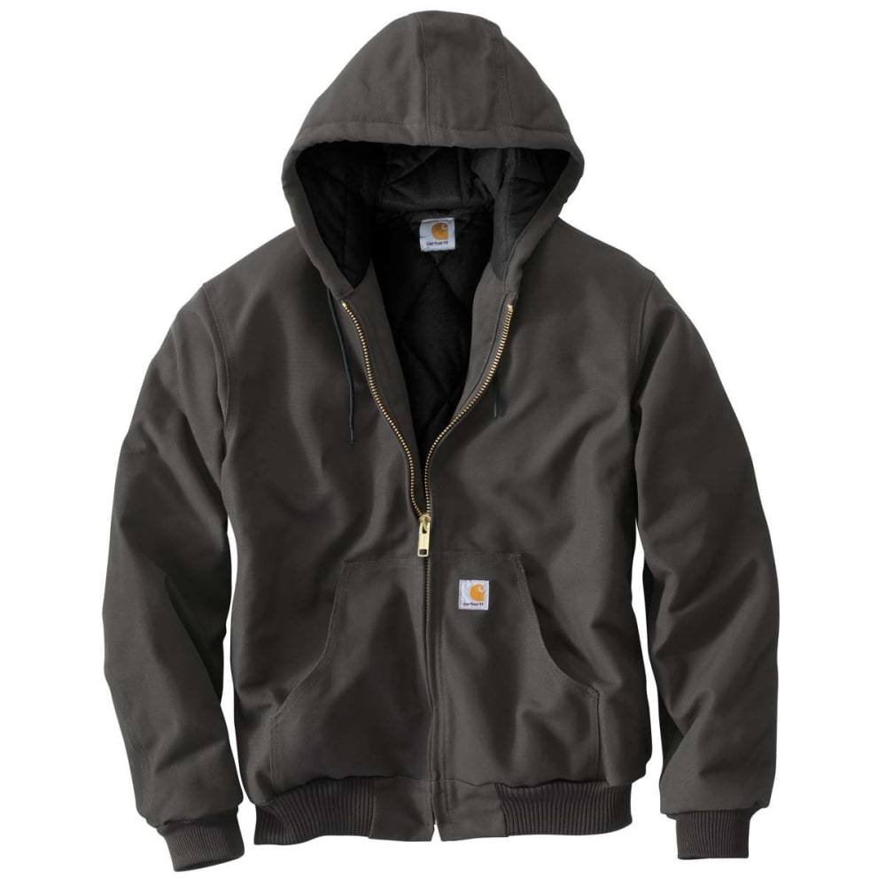 CARHARTT Men's Flannel-Lined Jacket, Extended Sizes LT