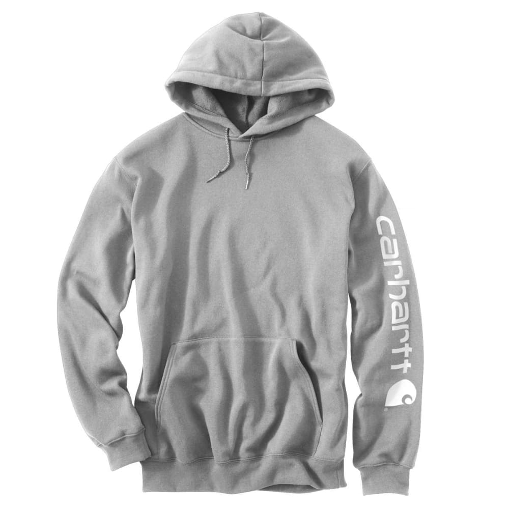 CARHARTT Men's K288 Signature Sleeve Logo Hoodie, Extended Sizes 5XL