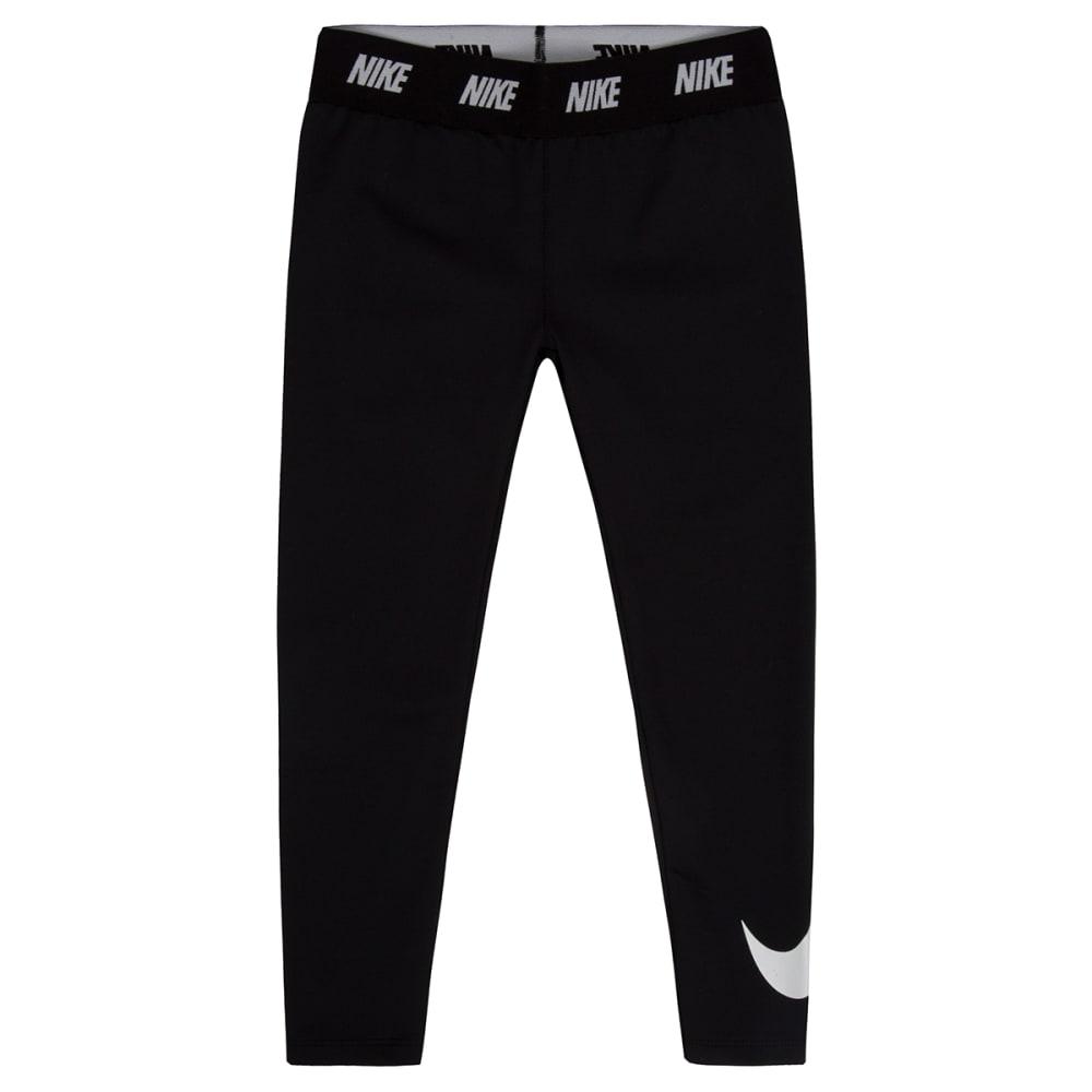 NIKE Girls' Dri-FIT Sports Essentials Swoosh Leggings 4