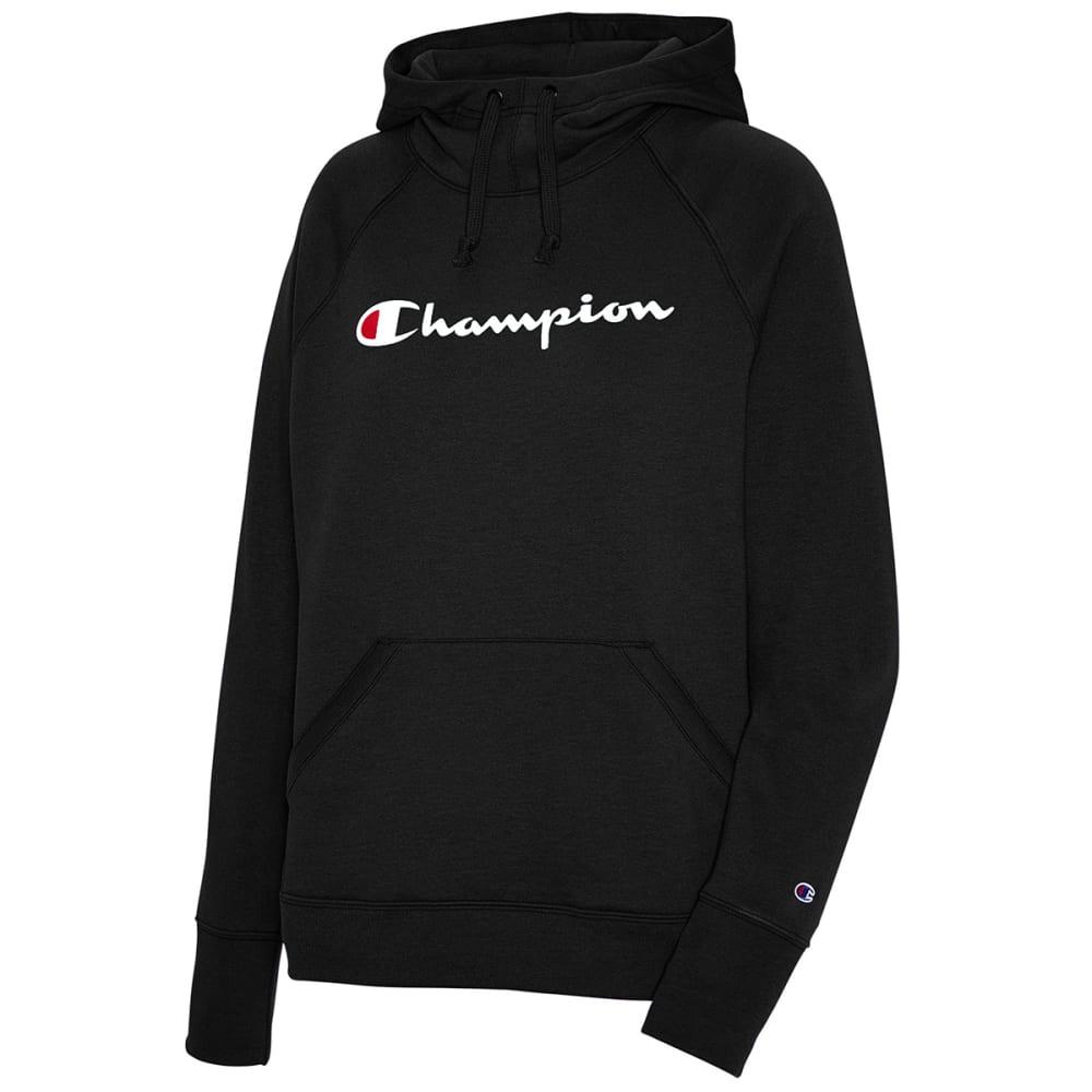 CHAMPION Women's Powerblend Graphic Logo Hoodie S
