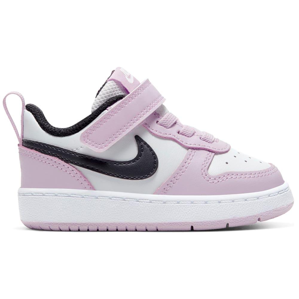 NIKE Infant/Toddler Girls' Court Borough Low 2 Sneaker 7