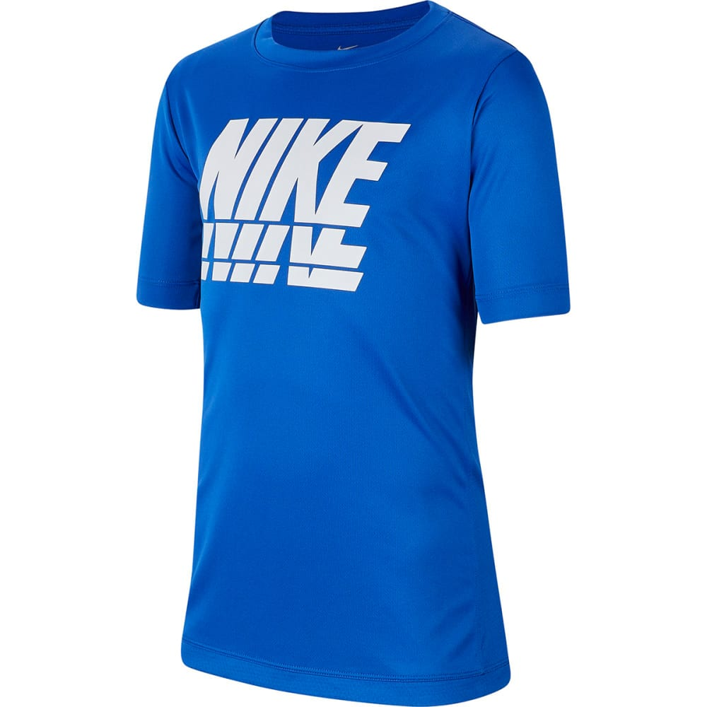 NIKE Big Boys' 8-20 Short-Sleeve Trophy Graphic Tee S
