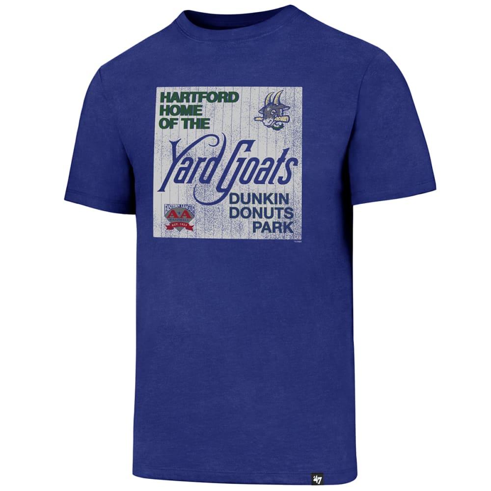 HARTFORD YARD GOATS Men's '47 Home of the Yard Goats Dunkin' Donuts Park Short-Sleeve Tee M