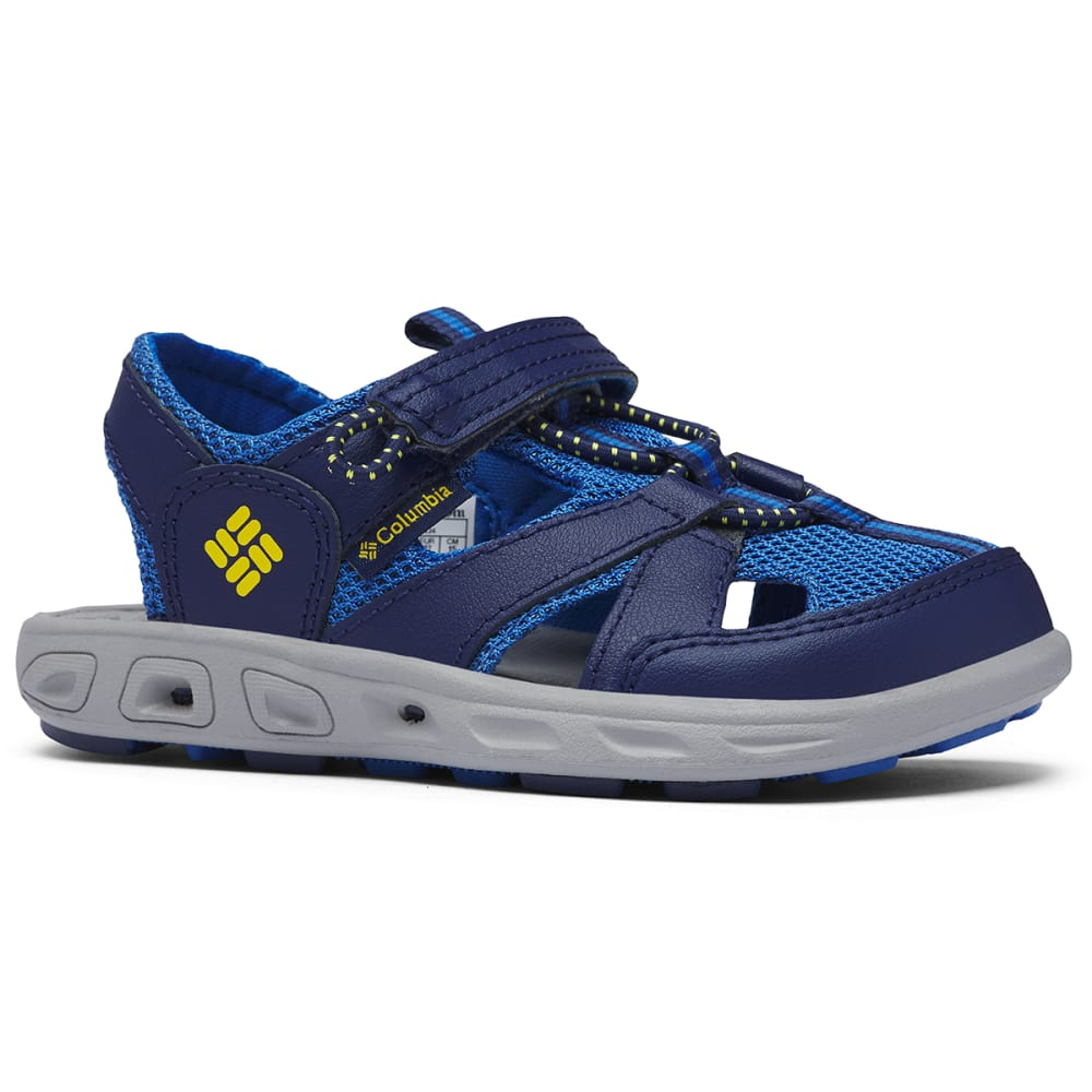 COLUMBIA Little Girls' Techsun Wave Closed-Toe Water Sandals 8