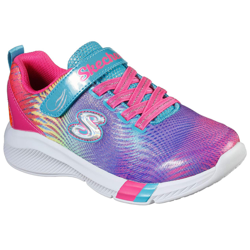 SKECHERS Girls' Dreamy Lites - Sunny Sprints Sneaker 8