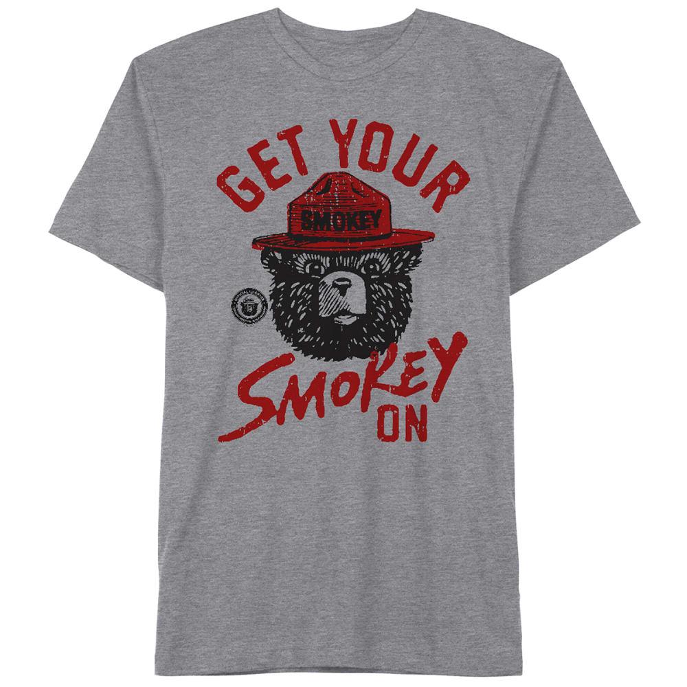 SMOKEY THE BEAR Guys' Get Your Smokey On Tee S