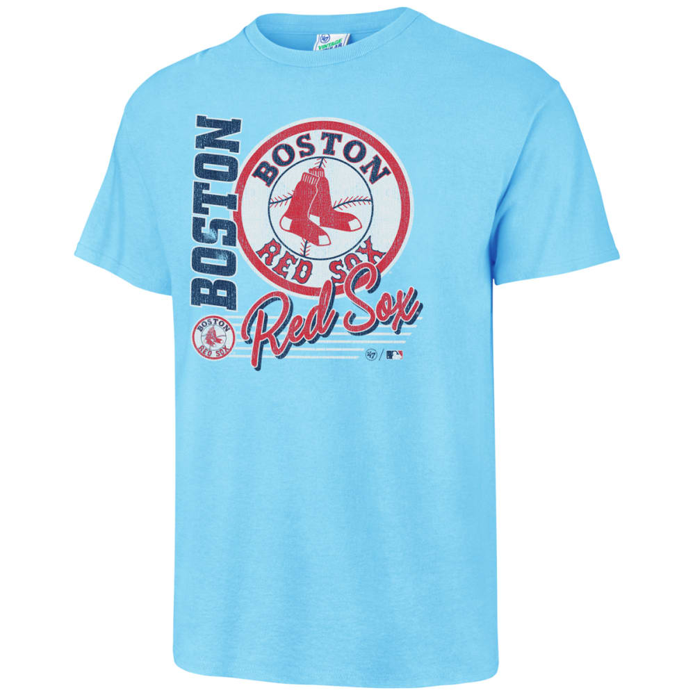 BOSTON RED SOX Men's '47 Brand Matinee Tubular Short-Sleeve Tee S