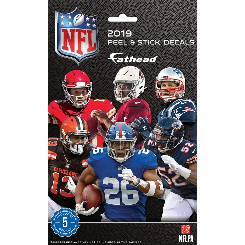 FATHEAD 2019 NFL Tradeables Mystery Pack NO SIZE
