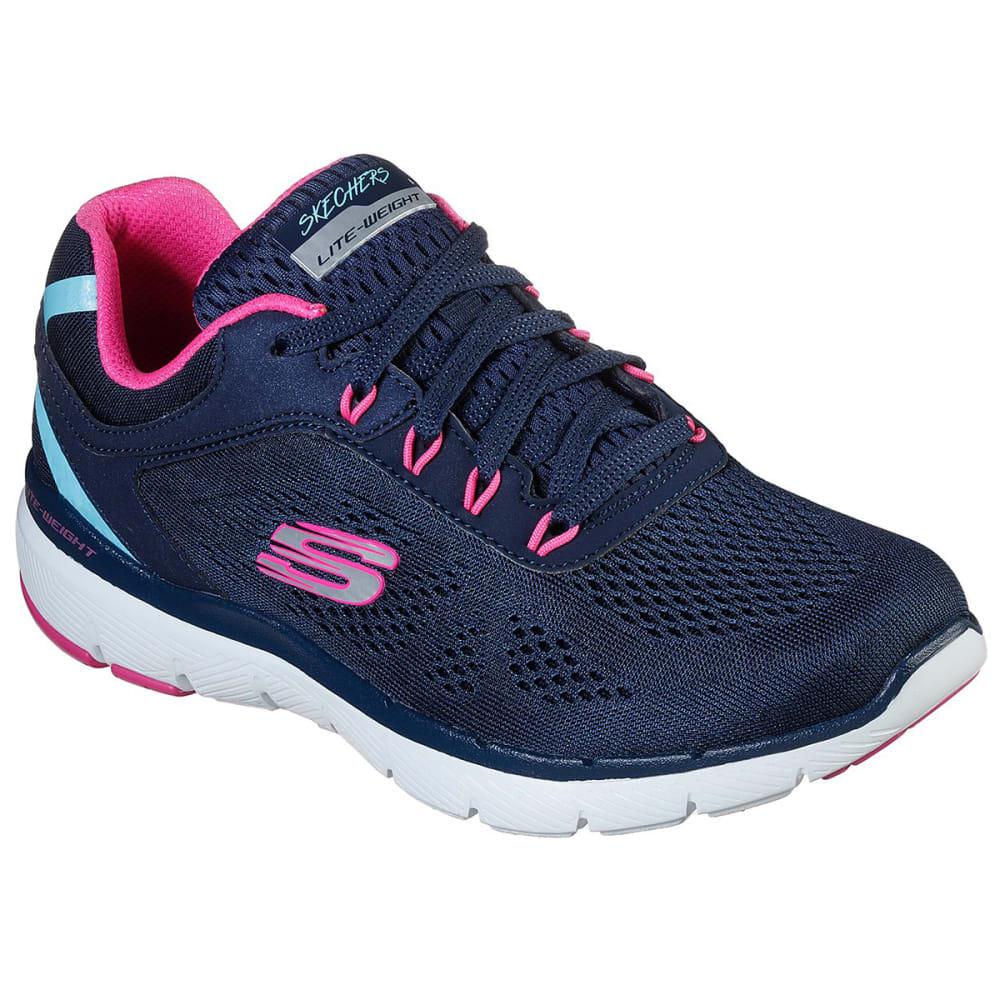 SKECHERS Women's Flex Appeal 3.0 - Steady Sneaker 6.5