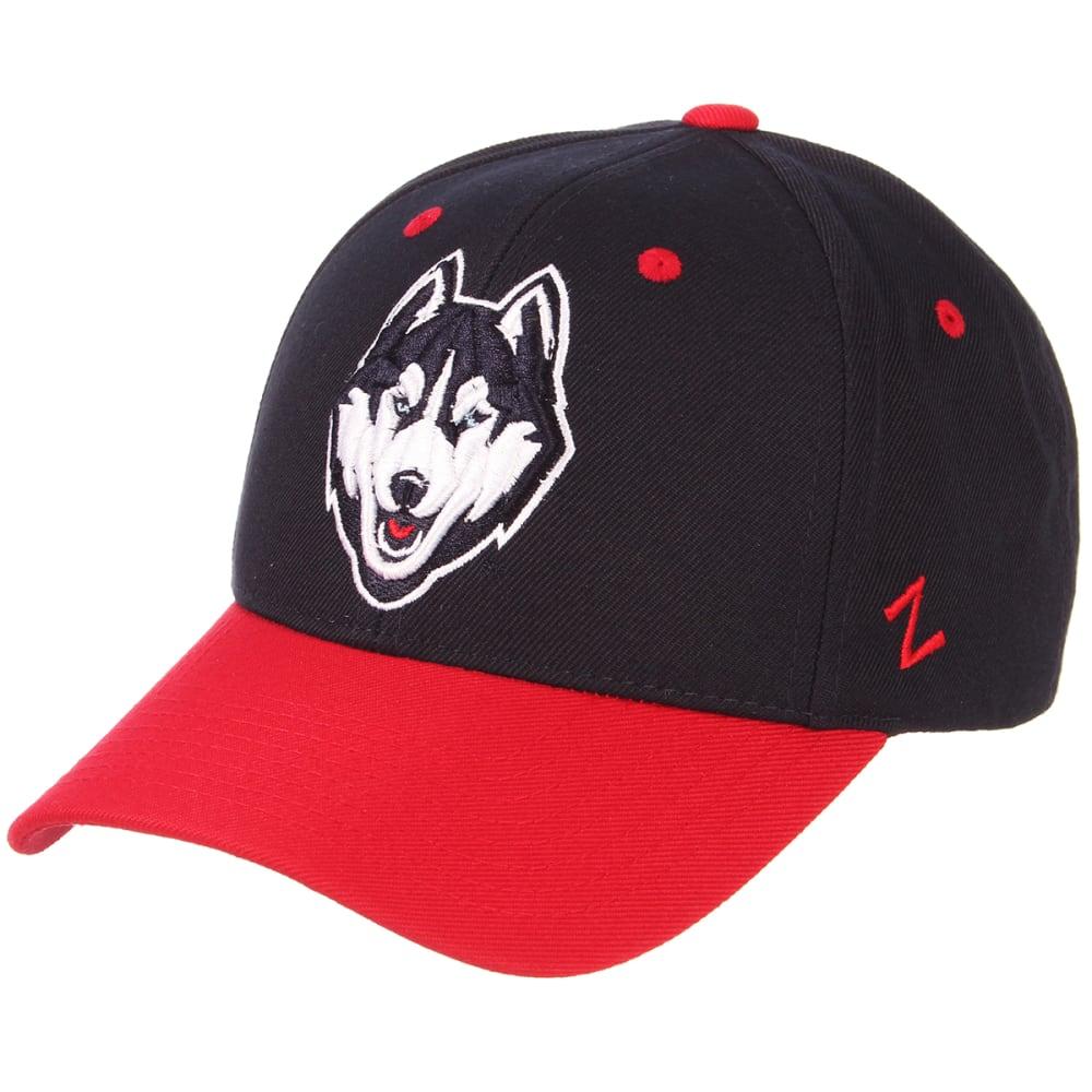 UCONN Men's Zephyr Competitor 2-Tone Adjustable Hat ONE SIZE
