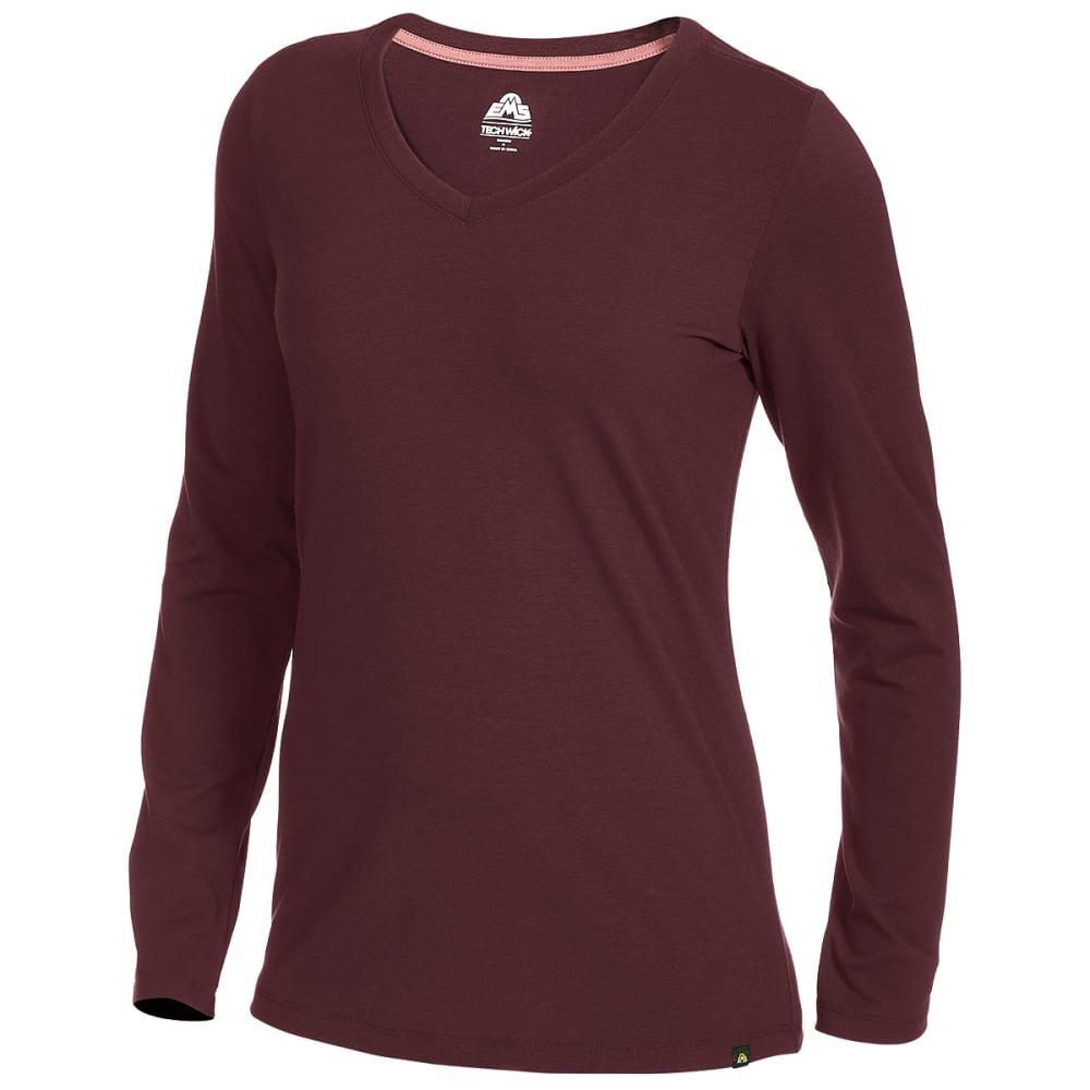 EMS Women's Vital Peak Long-Sleeve V-Neck Tee XS