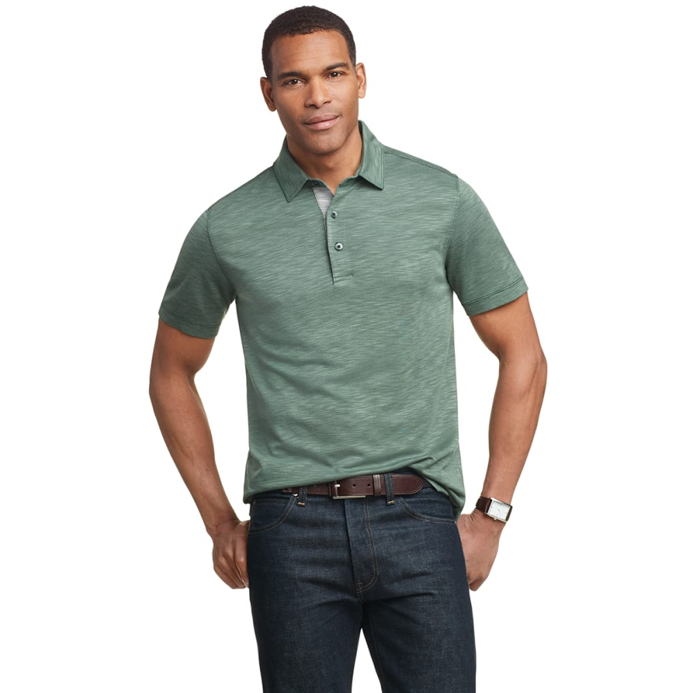 VAN HEUSEN Men's Air Short-Sleeve Solid Polo M