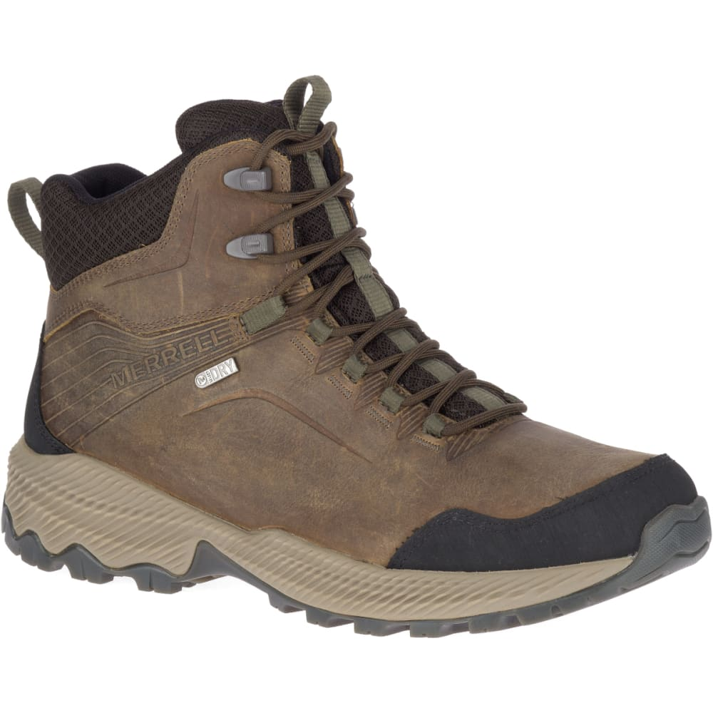 MERRELL Men's Forestbound Mid Waterproof Hiking Shoes 9