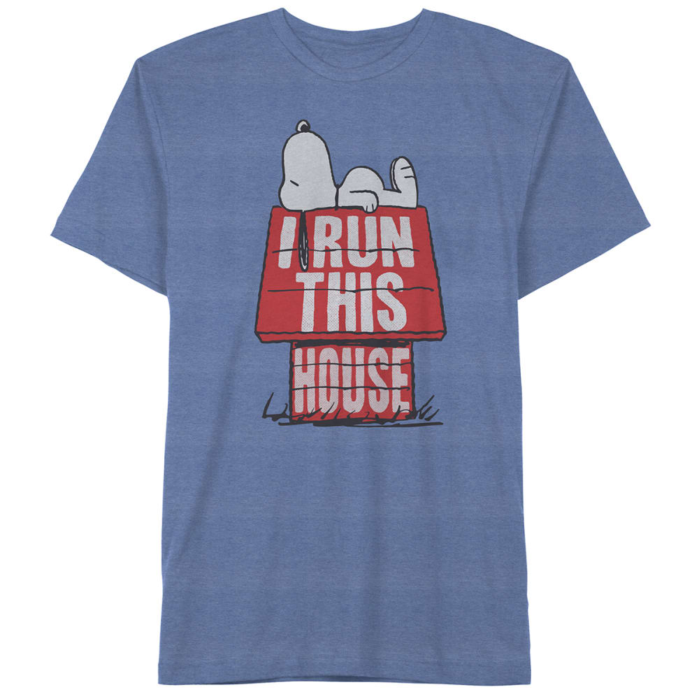 PEANUTS Kids' I Run This House Short-Sleeve Graphic Tee S
