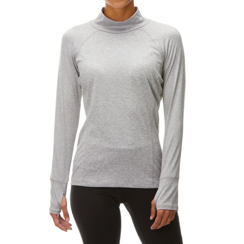 RBX Women's Mock Neck Long-Sleeve Top S