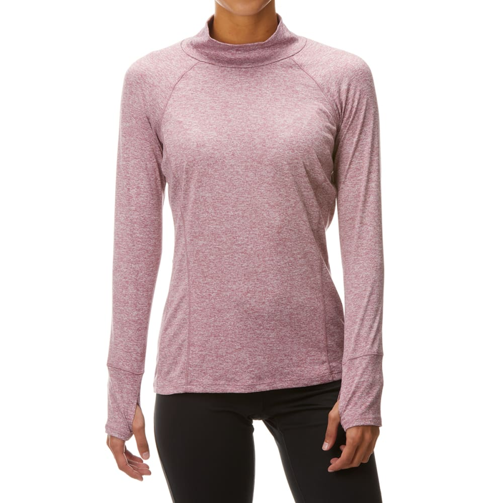 RBX Women's Mock Neck Long-Sleeve Top M