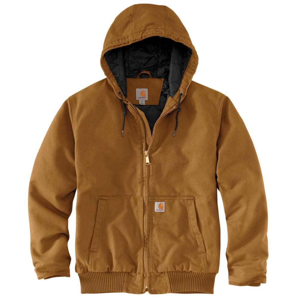 CARHARTT Men's Duck Quilt-Lined Jacket M