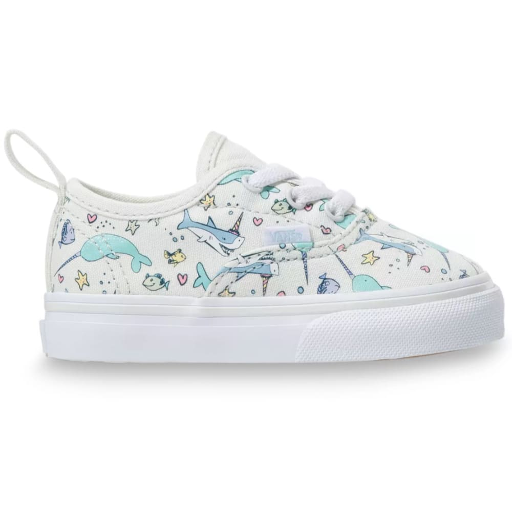 VANS Toddler Girls' Authentic Shark Party Sneakers 9