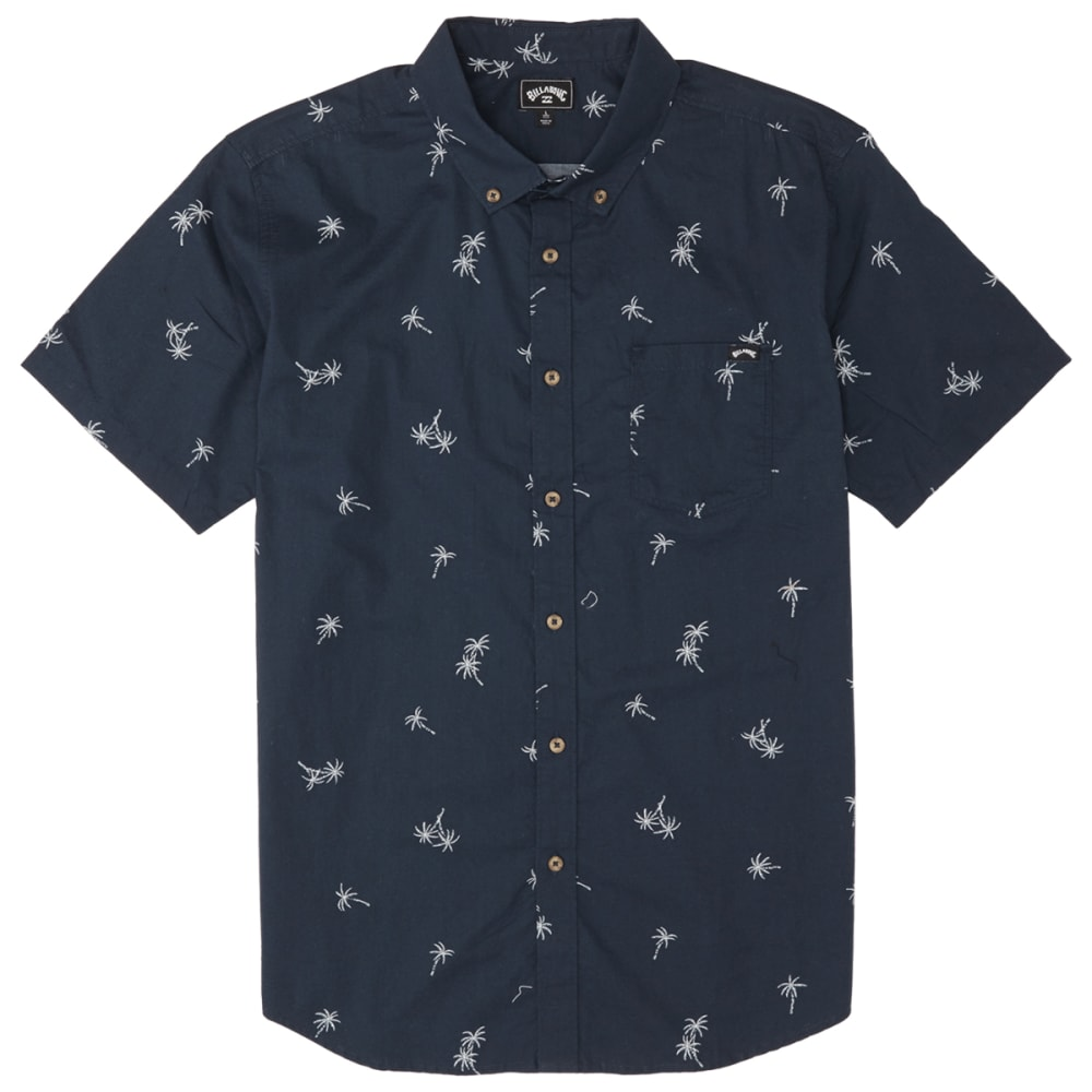 BILLABONG Men's Sundays Mini Short-Sleeve Shirt S