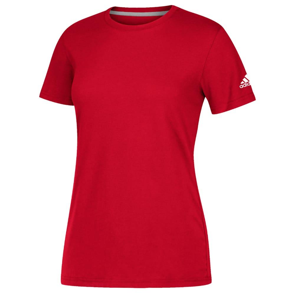 ADIDAS Women's Short-Sleeve Performance Crew Neck Tee 3XL