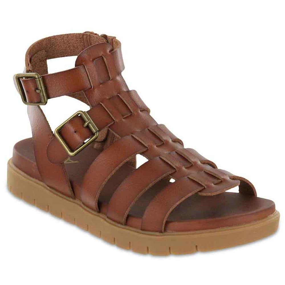 MIA Women's Annie Gladiator Gum Bottom Sandals 6