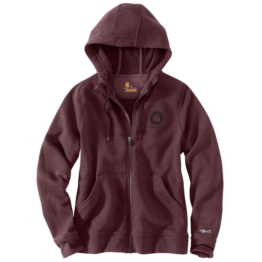 CARHARTT Women's Force Delmont Full-Zip Hoodie XL