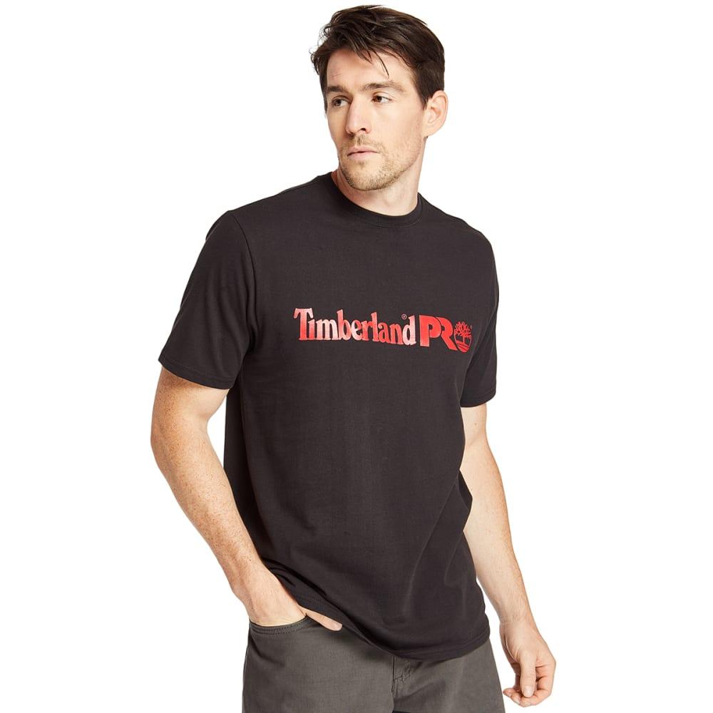 TIMBERLAND PRO Men's Short-Sleeve A1V9M Base Plate Logo Tee M