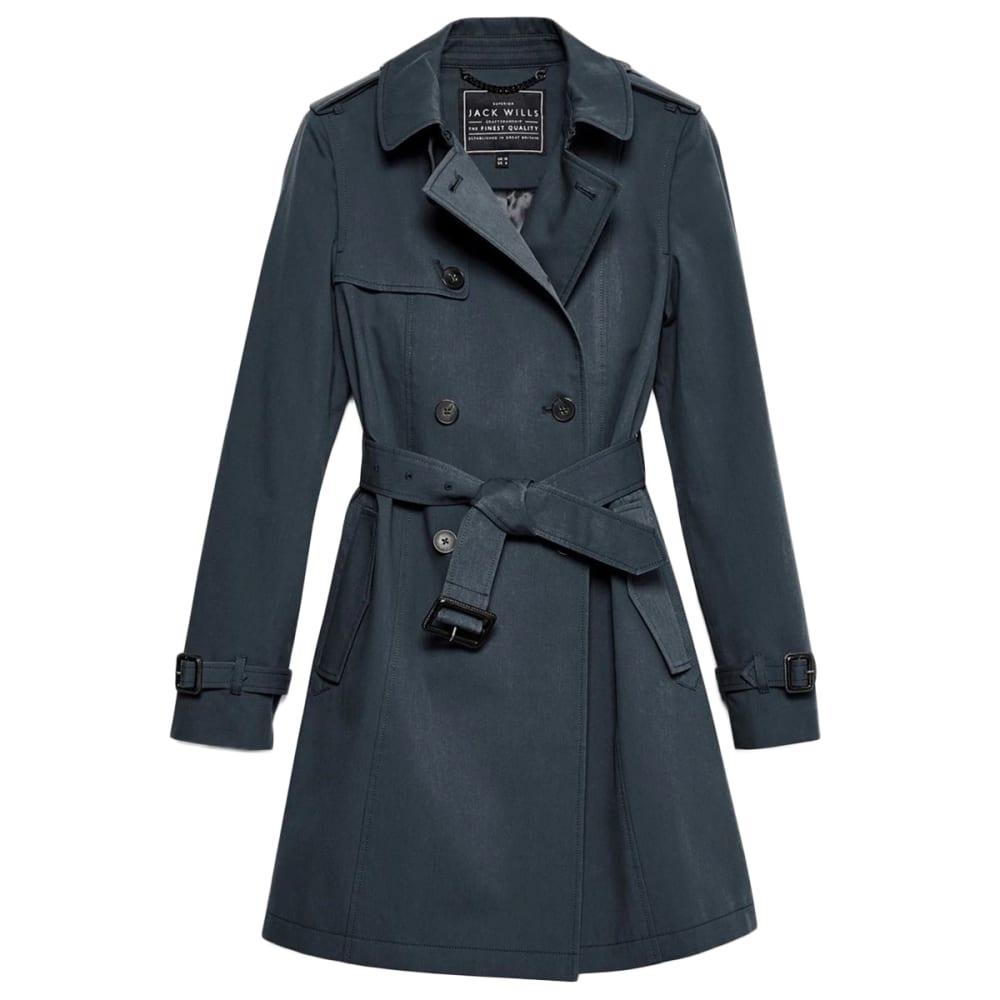 JACK WILLS Women's Ambrose Trench Coat 0
