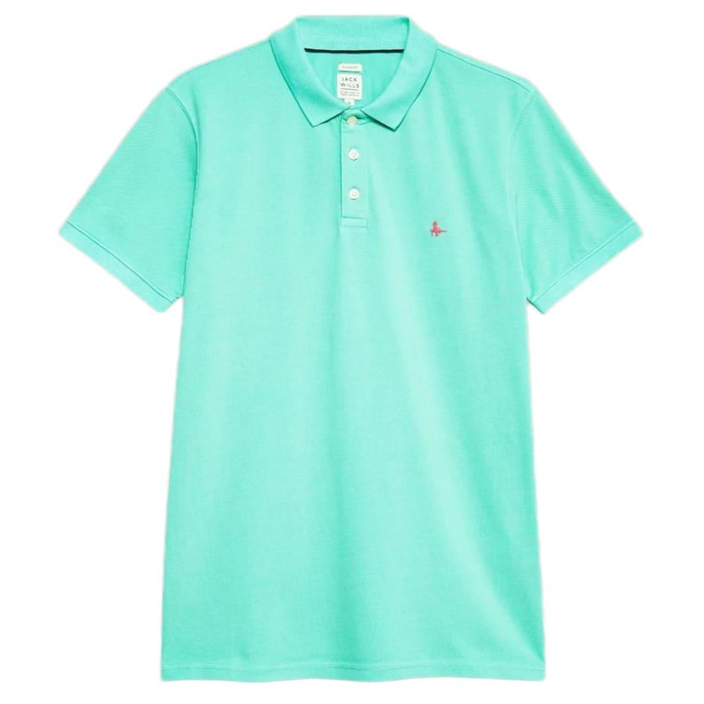 JACK WILLS Men's Bainlow Garment Dye Polo Shirt XS