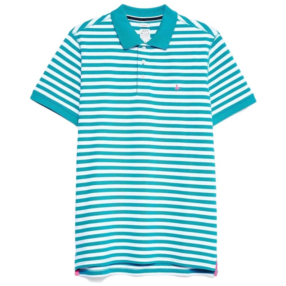 JACK WILLS Men's Milford Fine Stripe Polo XS