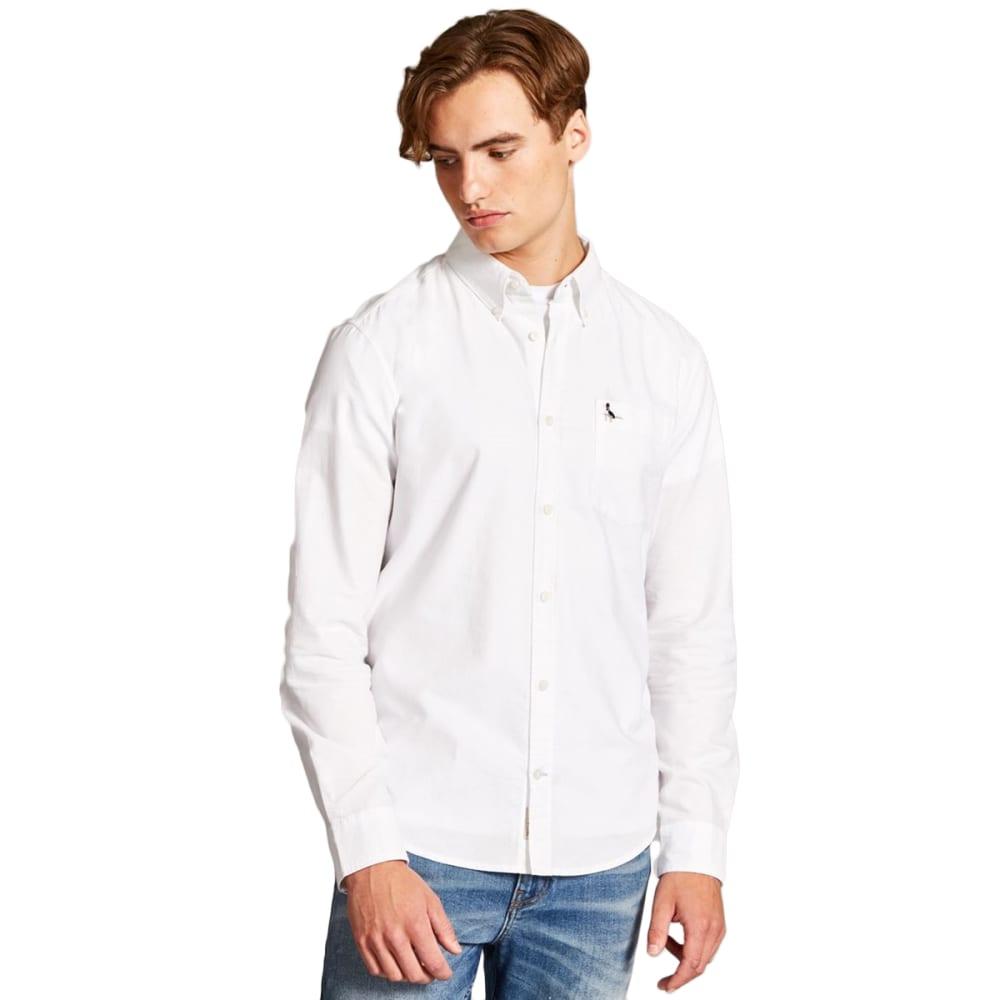 JACK WILLS Men's Wadsworth Plain Oxford Shirt XS