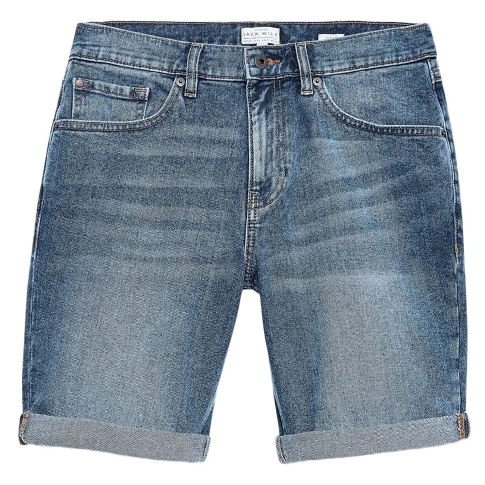 JACK WILLS Men's Denim Slim Short 28/R