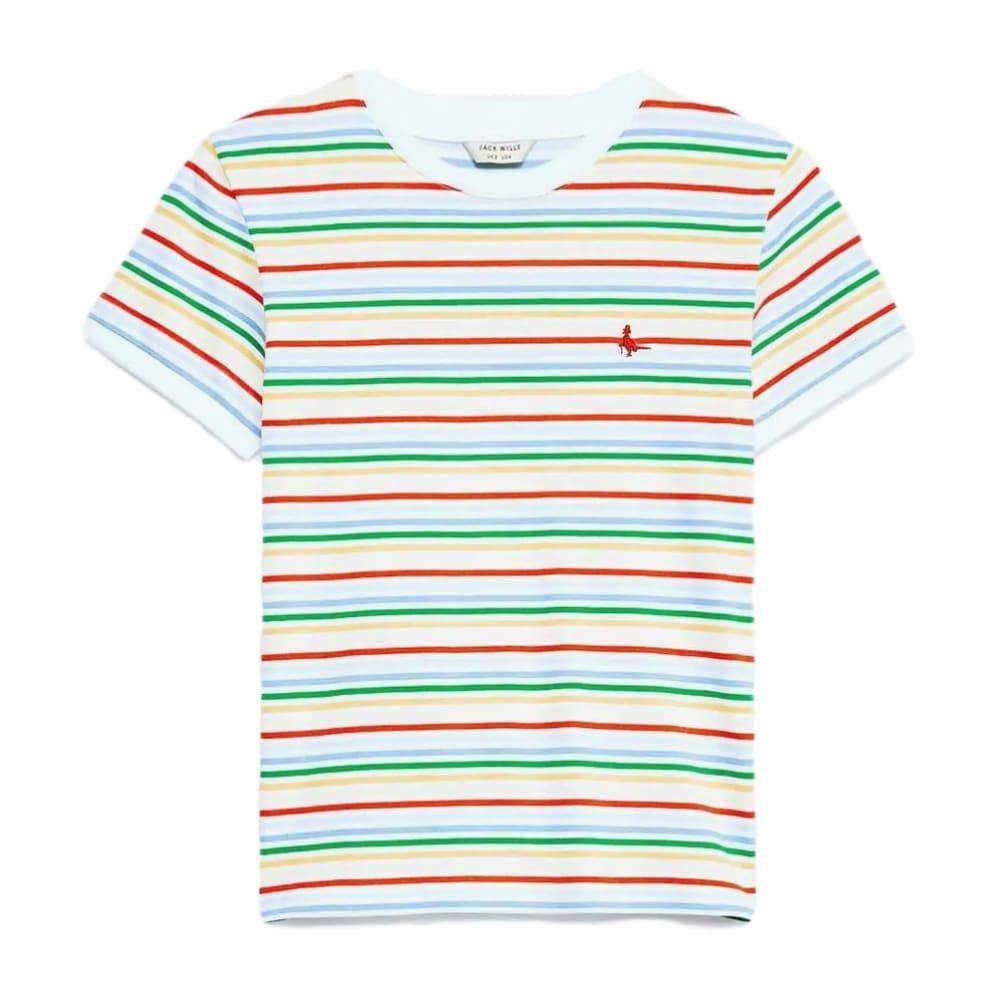 JACK WILLS Women's Hasley Stripe Ringer T-Shirt 4