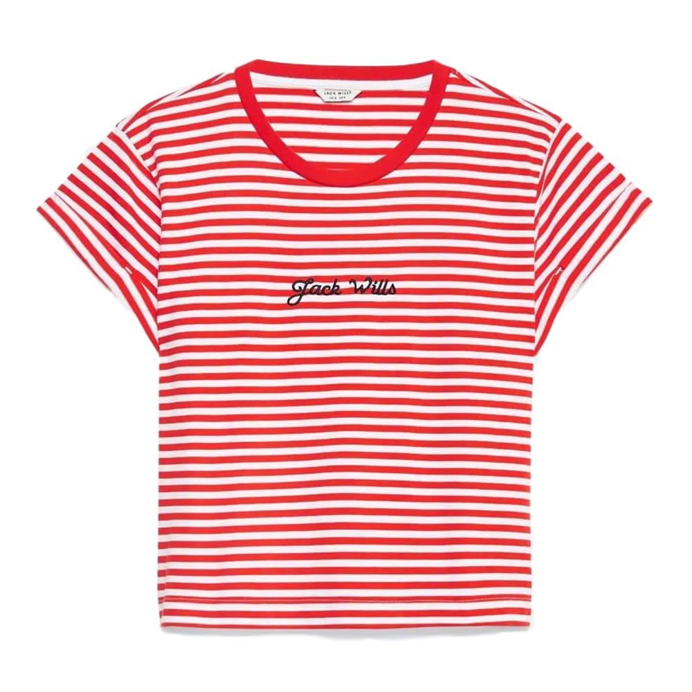 JACK WILLS Women's Milsom Cropped T-shirt 6