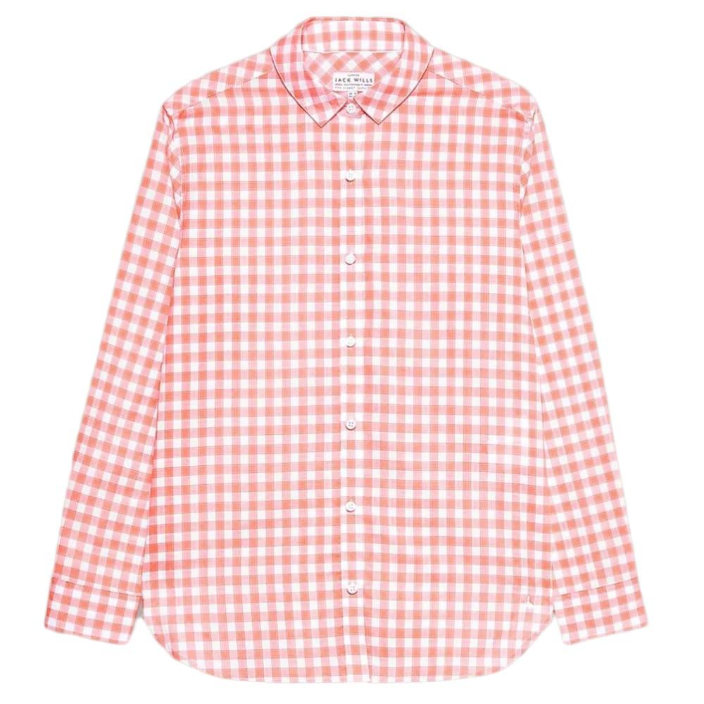 JACK WILLS Women's Guilden Checked Boyfriend Shirt 2