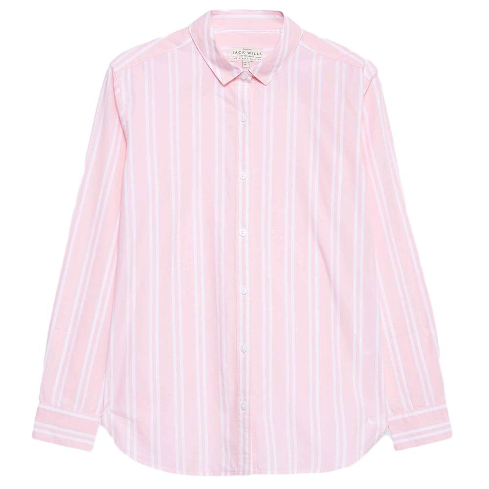 JACK WILLS Women's Guilden Striped Boyfriend Shirt 2