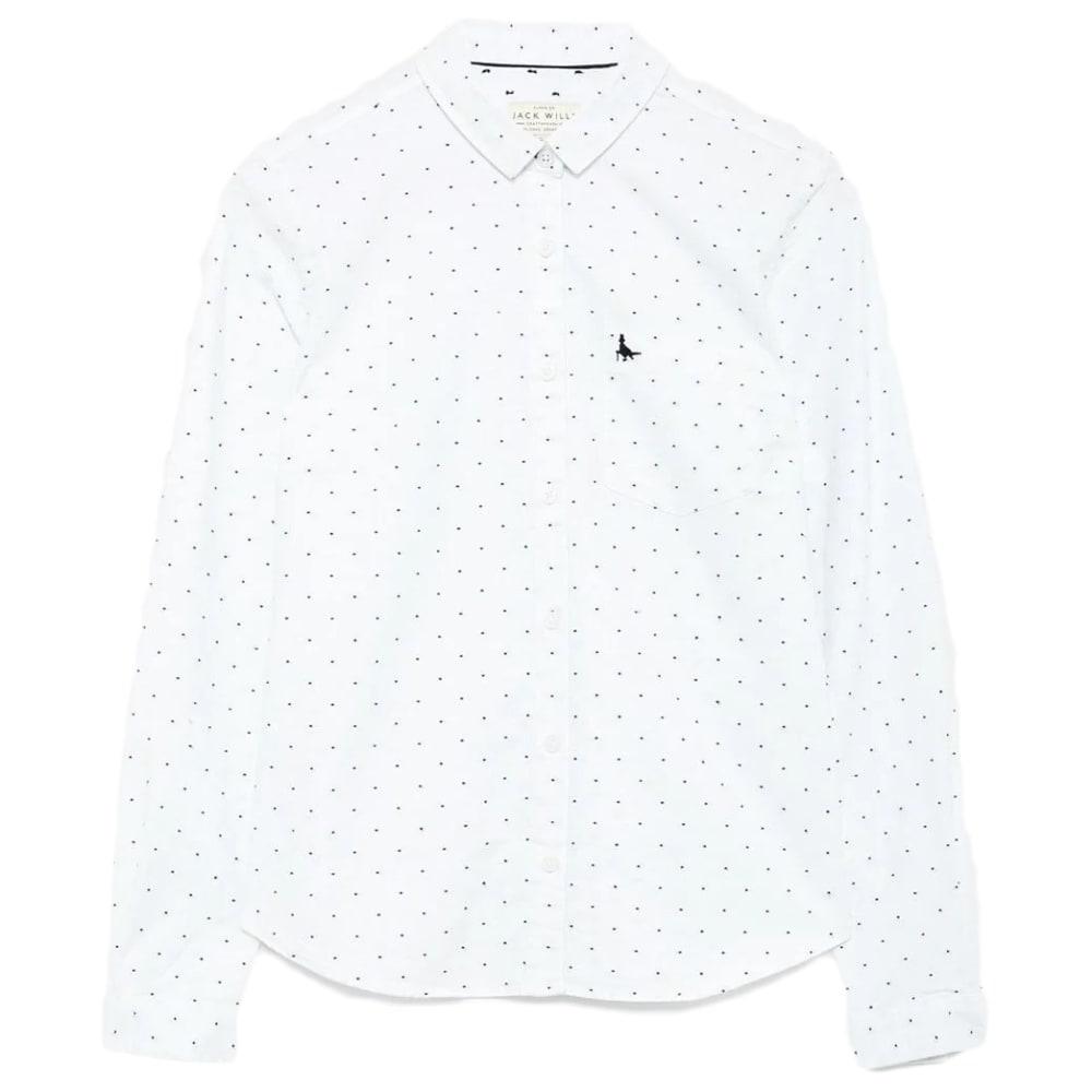JACK WILLS Women's Homefore Dobby Classic Shirt 2