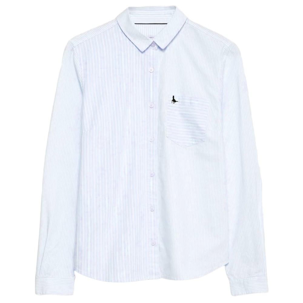 JACK WILLS Women's Homefore Stripe Classic Long-Sleeve Shirt 2