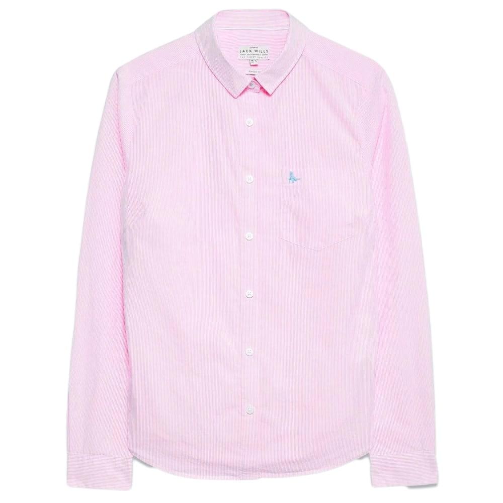 JACK WILLS Women's Prewitt Classic Fit Poplin Shirt 2