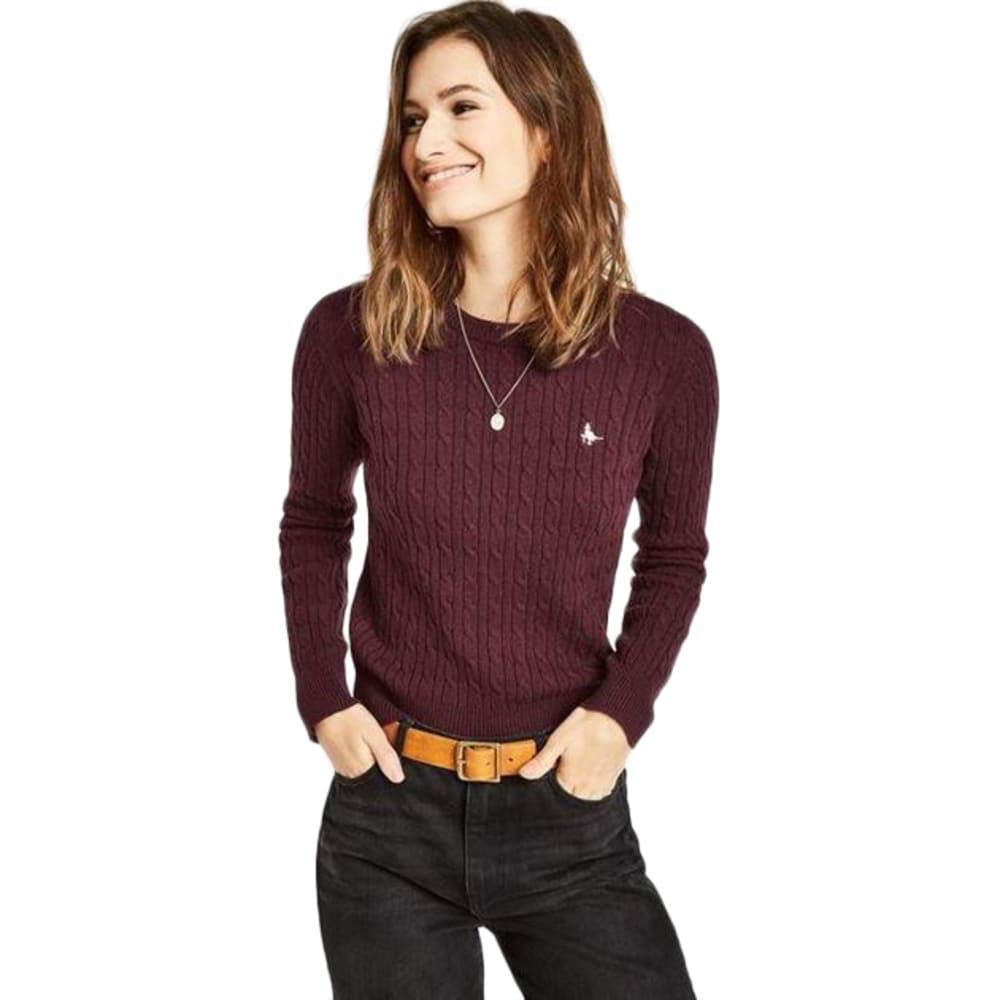 JACK WILLS Women's Heritage Cable Crewneck Sweater 4